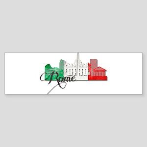 Rome Italy Bumper Sticker