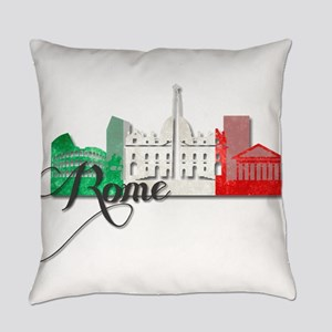 Rome Italy Everyday Pillow