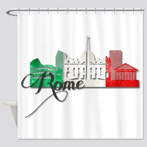 Rome Italy Shower Curtain