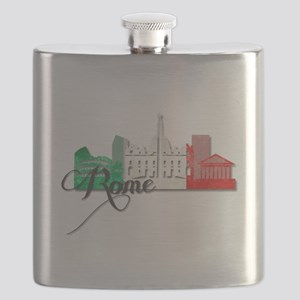 Rome Italy Flask