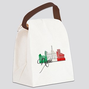 Rome Italy Canvas Lunch Bag