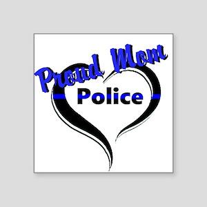 Proud Police Mom Sticker
