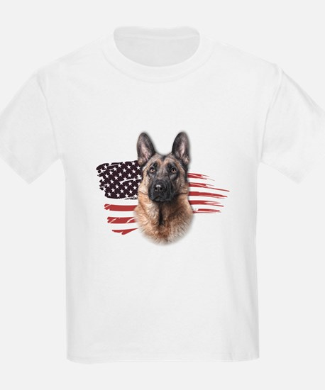 Patriotic German Shepherd T-Shirt