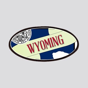 Wyoming Scroll Patch