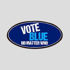 Vote Blue Democrat Patch