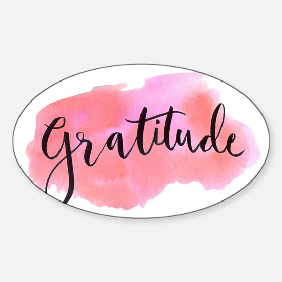 Gratitude Decal