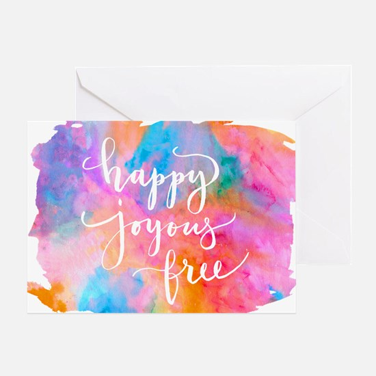Happy Joyous Free Greeting Cards