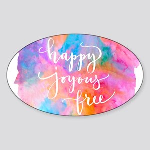 Happy Joyous Free Sticker