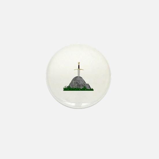 Cute Excalibur Mini Button