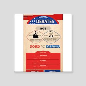 1976 Debate Sticker