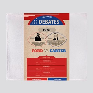 1976 Debate Throw Blanket