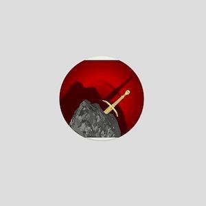 Sword in the Stone Mini Button