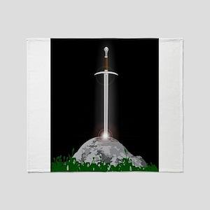 Excalibur Throw Blanket