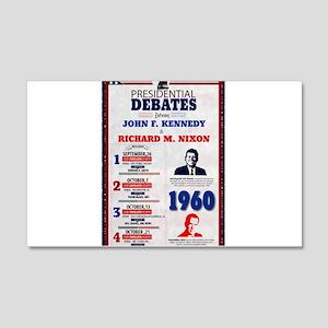1960 Debate Wall Decal