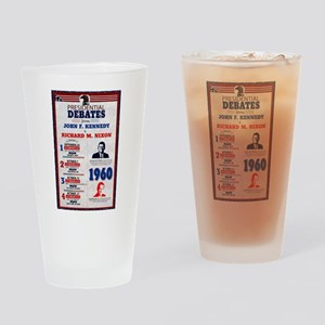 1960 Debate Drinking Glass