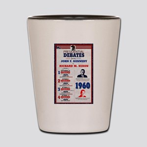 1960 Debate Shot Glass