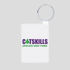 CATSKILLS - UPSTATE NEW YO Aluminum Photo Keychain