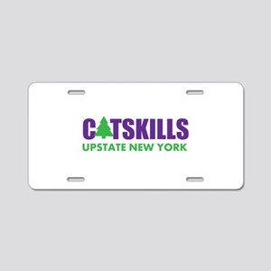 CATSKILLS - UPSTATE NEW YOR Aluminum License Plate