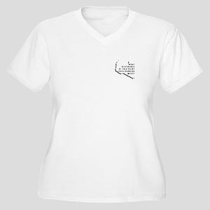 Benghazi Running Club V-Neck Plus Size T-Shirt