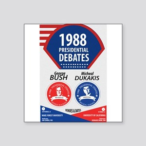 1988 Debate Sticker
