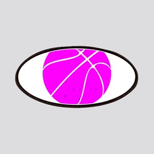 Pink Basketball Girls Patch