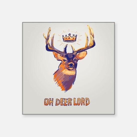 ?h deer lord Sticker