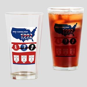 1992 Debate Drinking Glass