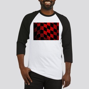 Dirty Chequered Flag Baseball Jersey