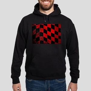 Dirty Chequered Flag Hoodie (dark)