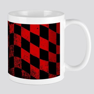 Dirty Chequered Flag Mugs