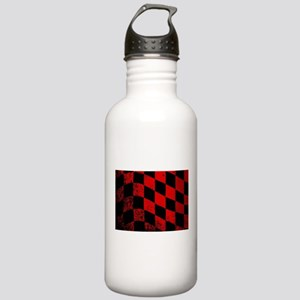 Dirty Chequered Flag Stainless Water Bottle 1.0L