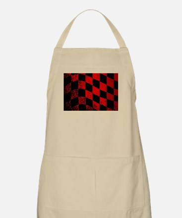 Dirty Chequered Flag Apron