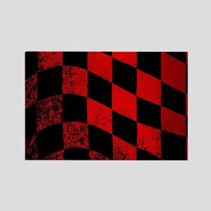 Dirty Chequered Flag Magnets