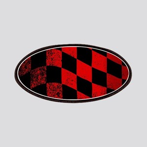 Dirty Chequered Flag Patch