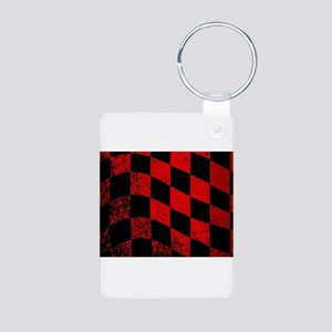 Dirty Chequered Flag Keychains