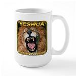 Yeshua, The Lion Of Judah Large Mug