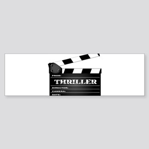 Thriller Clapperboard Bumper Sticker