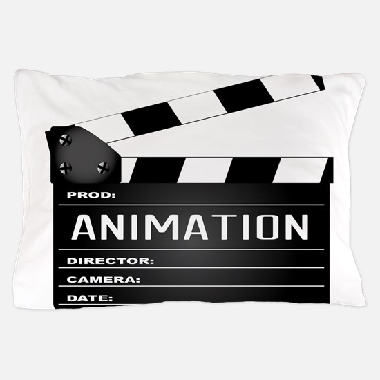 Animation Clapperboard Pillow Case
