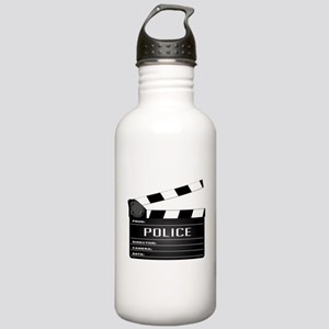 Police Clapperboard Stainless Water Bottle 1.0L