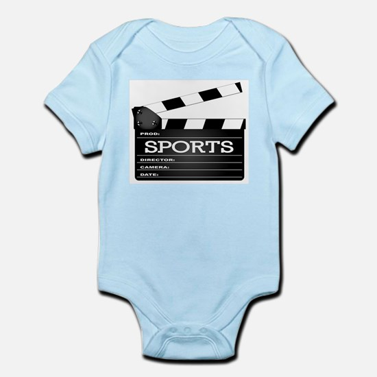 Sports Clapperboard Body Suit