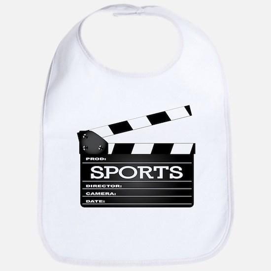 Sports Clapperboard Bib