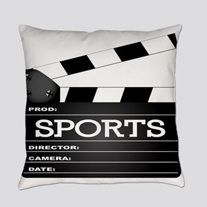 Sports Clapperboard Everyday Pillow