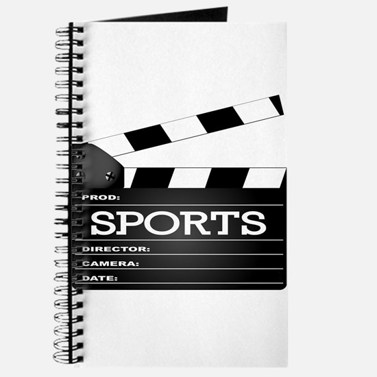 Sports Clapperboard Journal