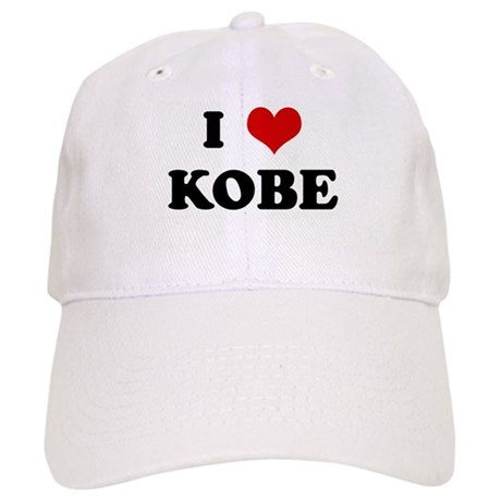 I Love KOBE Cap