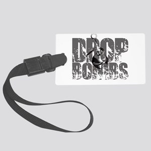 Drop Bombs Large Luggage Tag