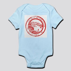 Alaska Seal Stamp Body Suit