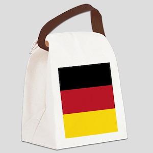 German Flag Canvas Lunch Bag