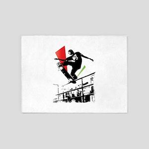 Skater slide 5'x7'Area Rug