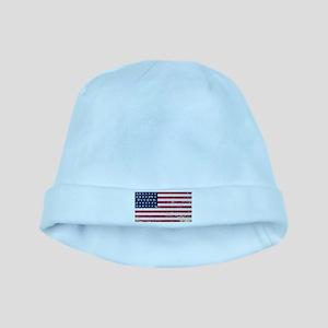 Union Civil War Flag baby hat