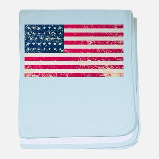 Union Civil War Flag baby blanket